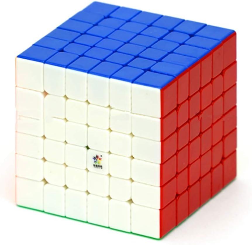 CuberSpeed YuXin Little Magic 6x6 M stickerless Speed Cube Little Magic 6x6x6 Magnetic Magic Cube
