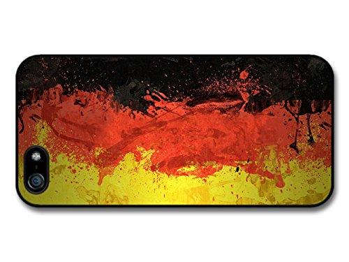 German Flag Germany Deutsch Flagge coque pour iPhone 5 5S