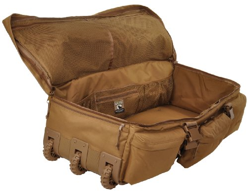 Sandpiper of California 2038-O-CB Rolling Loadout Luggage X-Large Bag (Brown, 15.5x37x17-Inch)