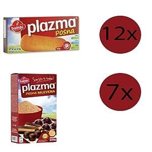 Plazma Vegan Biscuits (Posna Plazma) Paquete familiar, 2 ...