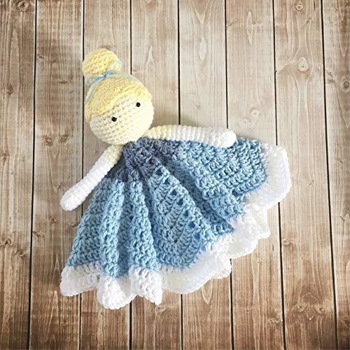 Tilly the Doll Lovey Pattern Security Blanket Crochet | Etsy | 500x500