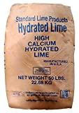 Calcium Hydroxide (Hi Calcium Hydrated Lime) [Ca(OH)2] [CAS_1305-62-0] 85+% White/ Gray Powder (in 50 Lbs Bag) Sold by Wintersun Chemical