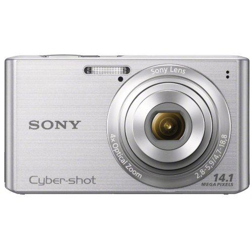 SONY Cyber-shot W610 (14.10MCCD/x4 Optical zoom) Silver DSC-W610/S - International Version (No Warranty) (Sony Dsc W610)
