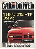 Escort Reviews - Car and Driver Magazine, August 1990 (Vol 36, No. 2)