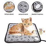 Per Pet Electric Blanket Heating Pad Dog Cat Bed Mat Waterproof Adjustable Temperature Chair Cushion 4545cm