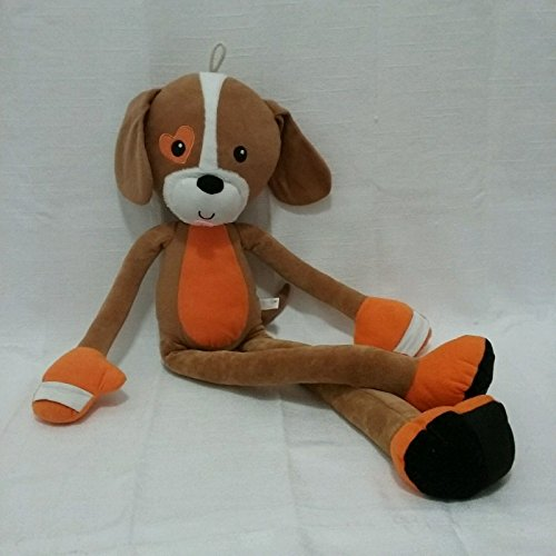 Stretch Kins Puppy Dog Blue Banana Plush Stuffed Animal Toy 35