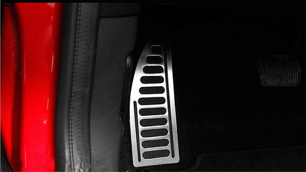 For Ford Focus KUGA Escape Escort C Max S Max Mondeo Fusion MK4 For Mazda3 JJKCEA Stainless Steel Car Pedal Pedals Cover For LINCOLN MKC