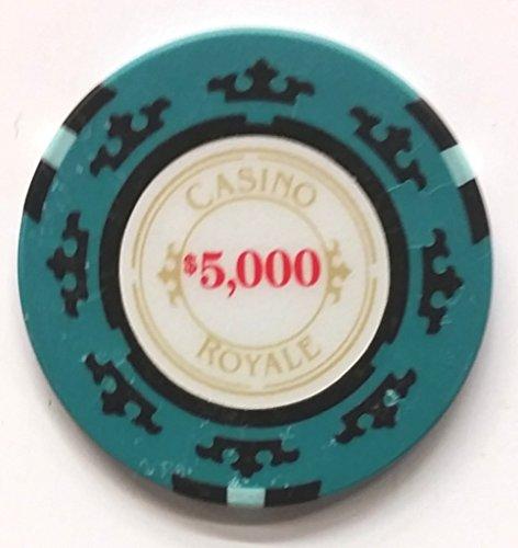 James Bond Casino Royale Poker Chip 5,000 Performance used Movie Prop