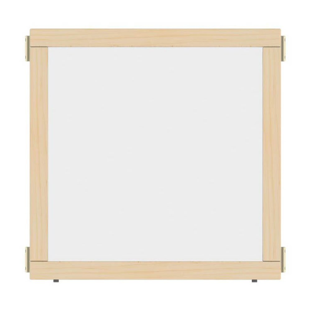Offex School kids Study Playroom T-height See-Thru Hub Panel, 48'' Wide (OF-1514JCTPL)