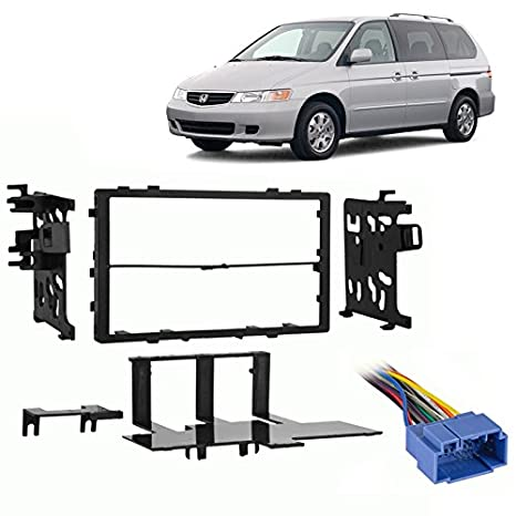 Amazon.com: Fits Honda Odyssey 1999-2004 Double DIN Stereo ... on