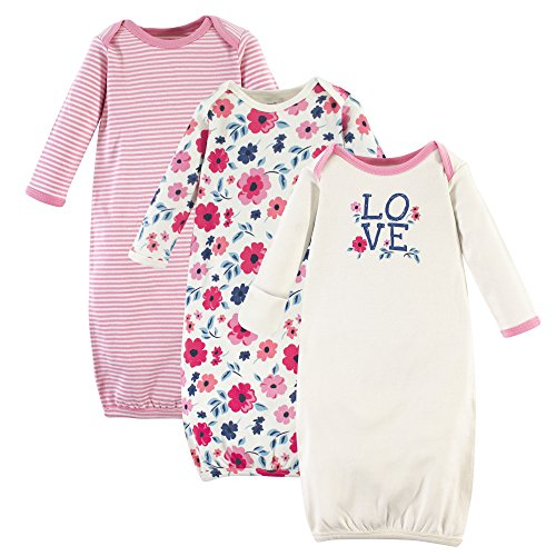 Touched by Nature Baby Organic Cotton Gowns, Floral