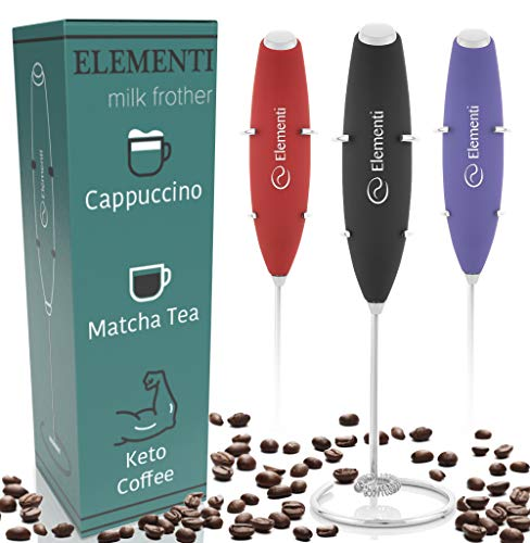 Elementi Milk Frother with