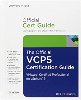 the official vcp5 certification guide vmware press