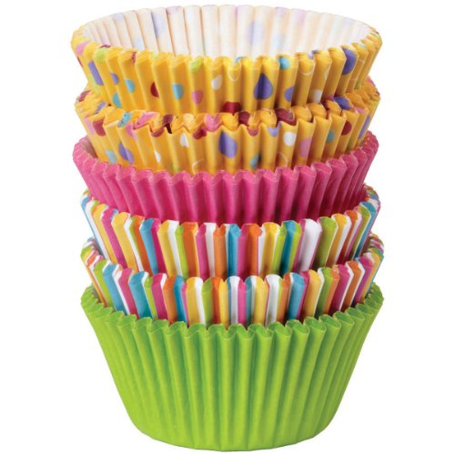 Wilton 415-8121 150/Pack Baking Cup, Dots/Stripes, Standard