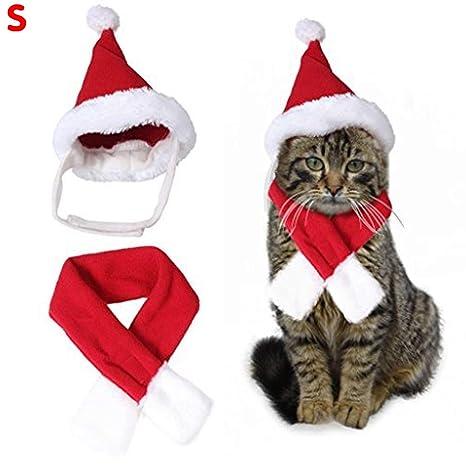 Dupeakya - Disfraz de Papá Noel, Gorro y Bufanda, cómodo y fácil ...