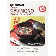 Kikkoman Instant Japanese Clear Broth, Osuimono, 0.33 Ounce