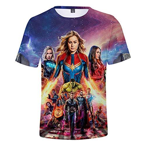 Unisex 3D Avenger's Endgame T-Shirt| Premium Superhero Shirt