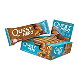 Quest Nutrition Chocolate Caramel Pecan Hero Protein Bar, Low Carb, Gluten Free, Soy Free, 10 Count