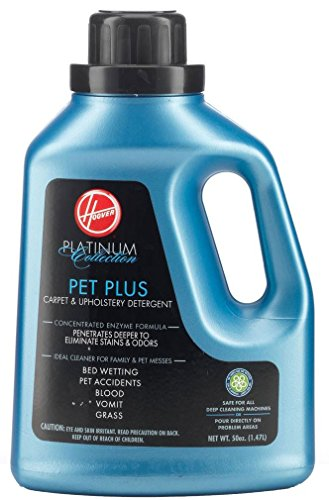 Hoover AH30035 Carpet Cleaner and Upholstery Detergent Solution, Platinum Collection Pet Plus Formula, 50 -