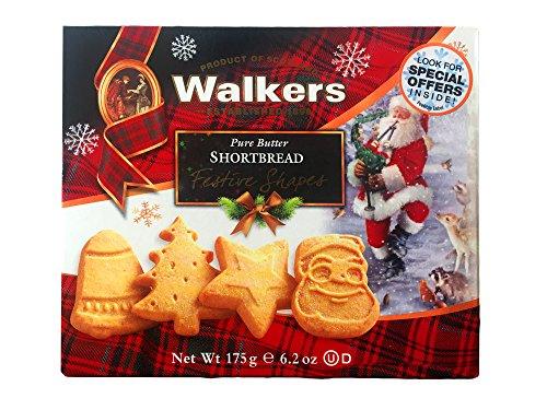 Walkers Pure Butter Shortbread -- Festive Shapes (6.2 - Walker Colours Karen