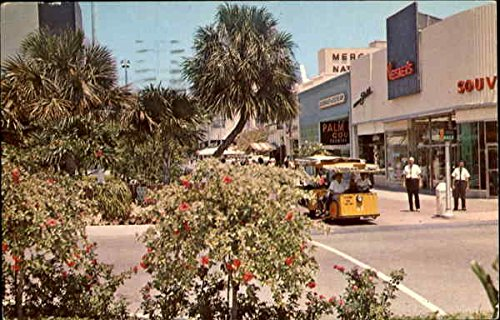Exotic Lincoln Mall Miami Beach, Florida Original Vintage - Lincoln Mall Beach Miami