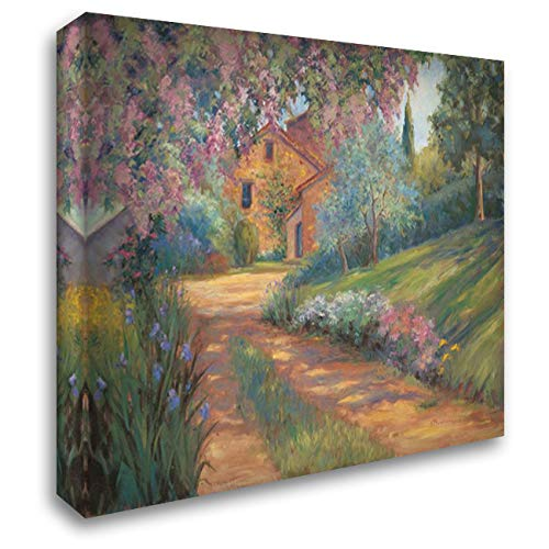 (Pepes Farm I 37x28 Gallery Wrapped Stretched Canvas Art by Fermanis, Pamela)