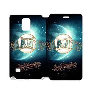 San Francisco Giants Cool Design Cover in Electronics Samsung Galaxy note 4 Case Cover (Laser Technology) hjbrhga1544