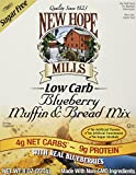 New Hope Mills Low Carbohydrate Bread & Muffin Mix, Blueberry,8 Ounce