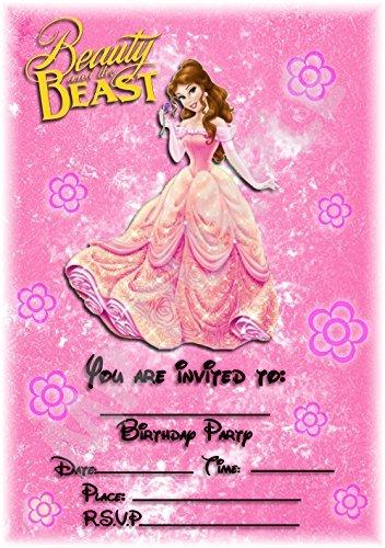 Disney La Bella y la bestia fiesta de cumpleaños ...