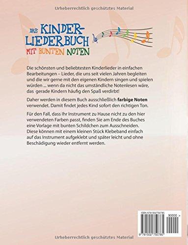 Das Kinderliederbuch mit bunten Noten: Amazon.de: Lena Eckhoff ...