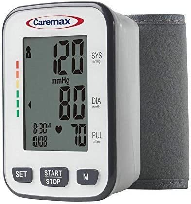 Blood Pressure Monitor with Easy to Read Digital Display – One Touch Operation Ideal for Children or Adults, Wrist