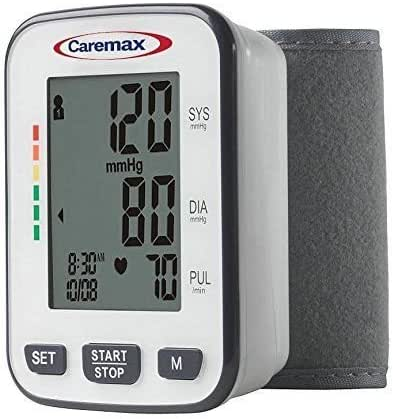 Blood Pressure Monitor with Easy to Read Digital Display - One Touch Operation Ideal for Children or Adults, Wrist