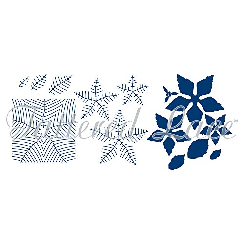(Tattered Lace Mega Poinsettia Dies & Embossing Folders ETL312)