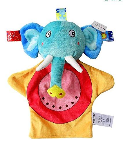 Sun Glower Toalla de algodón Toalla de Mano Suave Toalla de bebé Juguetes Elefante Elefante Lindo Toy_Colorful: Amazon.es: Juguetes y juegos