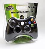 xbox old controller - Old Skool Wired USB Controller for PC & Xbox 360 - Black