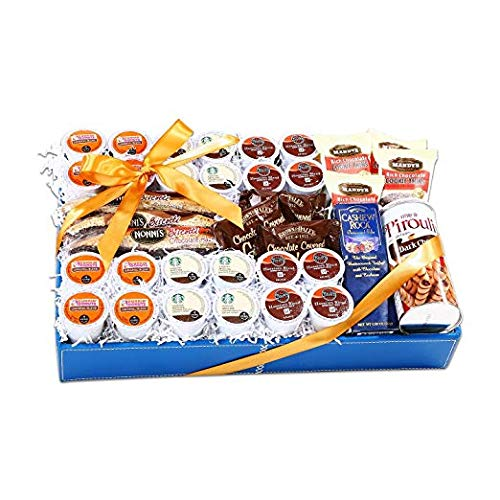Alder Creek K-Cup Lovers Gift Basket - (Original from manufacturer - Bulk Discount available)