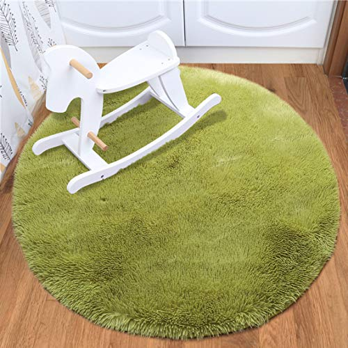 Shaggy Girl - Softlife Area Rugs for Bedroom 4'