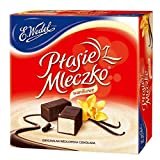 Ptasie Mleczko Chocolate Covered Vanilla Marshmallow 13.4 Oz (Pack of 2)