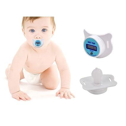 DINOWIN LCD Digital Chupete termómetro bebé Infant niño salud seguridad cuidado,Termómetro oral termómetro electrónico