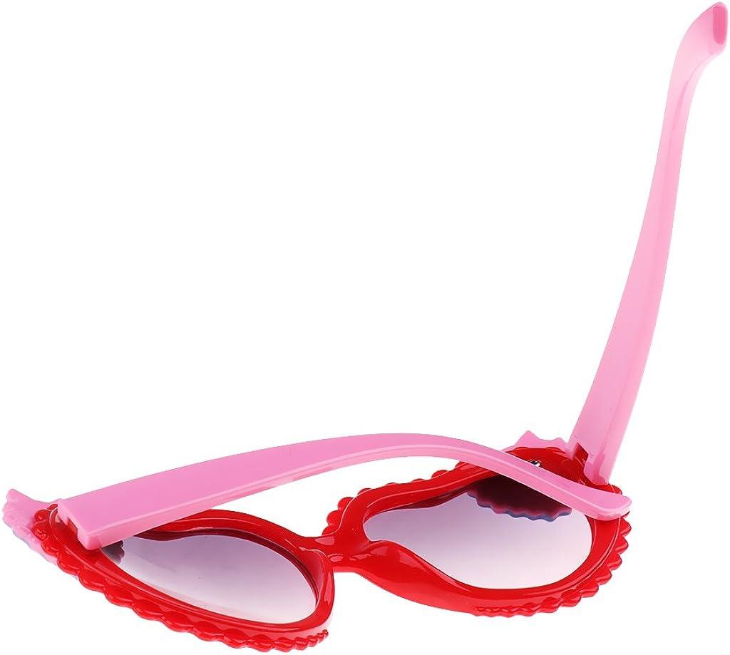 B Baosity Kids UV Protection Sunglasses Polarized Lens Heart Shape Party Favors Sun Glasses for Boys and Girls