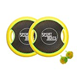 Sport Beats Outdoor Trampoline Paddle Ball Game Set For 2 Player,2 Balls included