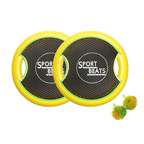 Sport Beats Outdoor Trampoline Paddle Ball Game Set For 2 Player,2 Balls included (Dallas Cowboys Alarm)