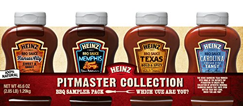 Heinz BBQ Sampler, 4 ct