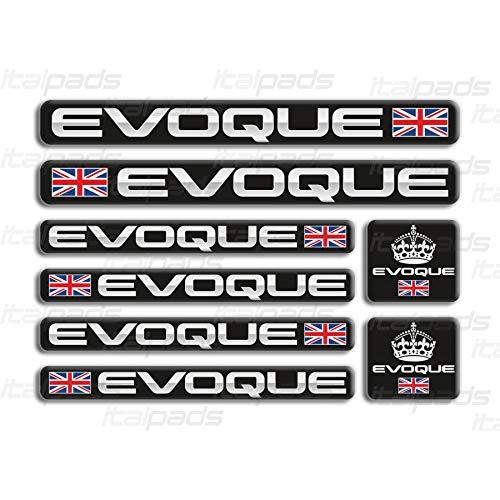 Kit 8 pegatinas decorativas Range Rover Evoque