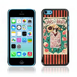 YOYOSHOP [Funny Cows & Meat Illustration] Apple iPhone 5C Case