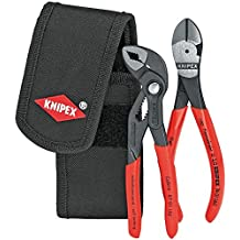 KNIPEX 00 20 72 V02 Mini pliers set in belt tool pouch by Knipex