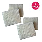 Crucial Air 4PK Humidifier Wick Filters Compatible with Vornado MD1-0002, Fits All Vornado Evaporative Humidifiers Compare to Part # MD1-0002, MD1-0001