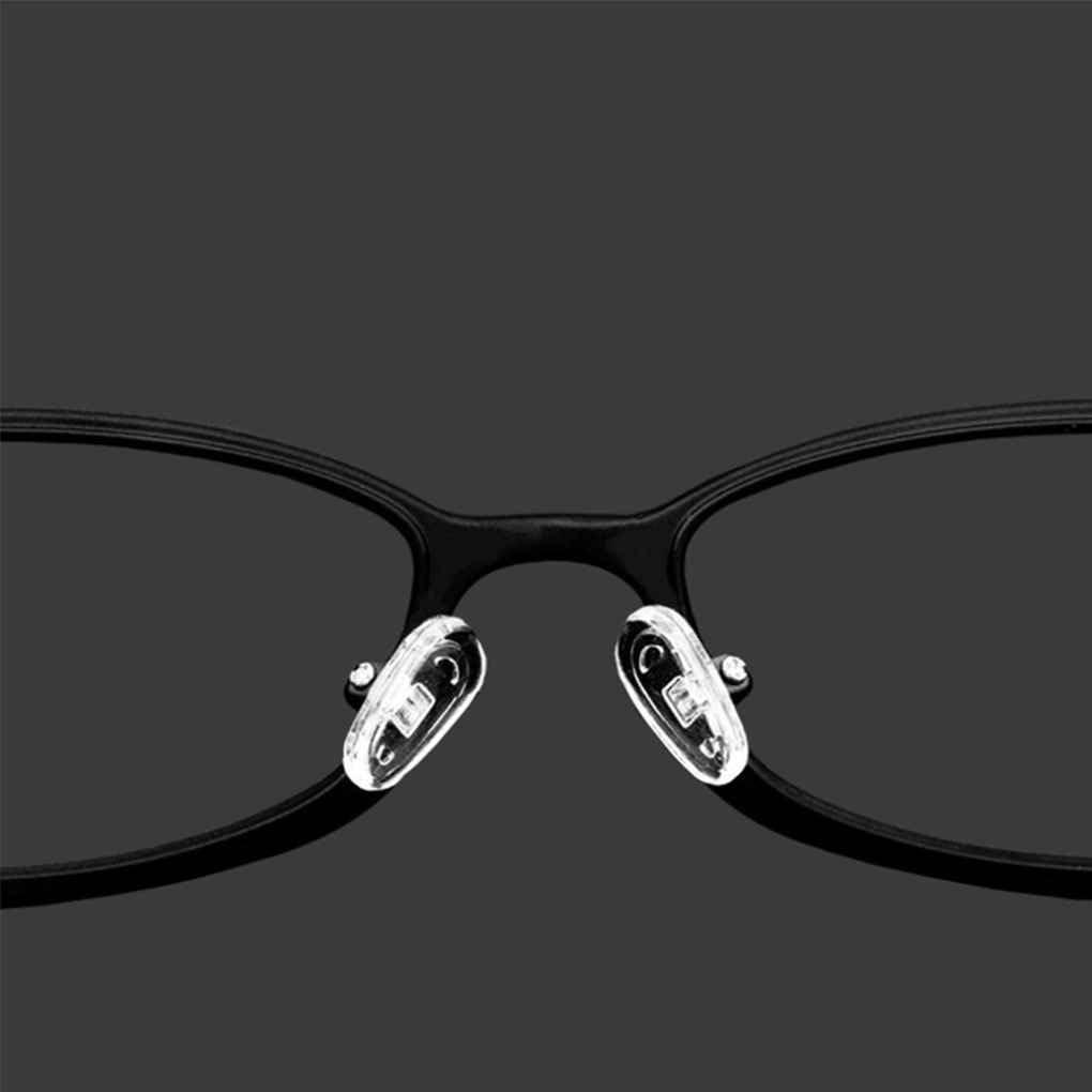 wufeng 5 Pares siliconaNuestra Pads Tornillo en Almohadillas de la Nariz del Empuje en los Cojines de Nariz Herramienta de reparaci/ón de Gafas de Sol Gafas Eyewear