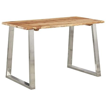 Tavolo Da Pranzo Stile Industriale.Vidaxl Legno Massello D Acacia Tavolo Da Pranzo Interni Stile