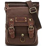 Genda 2Archer Canvas Hiking Messenger Bag Casual Small Purse